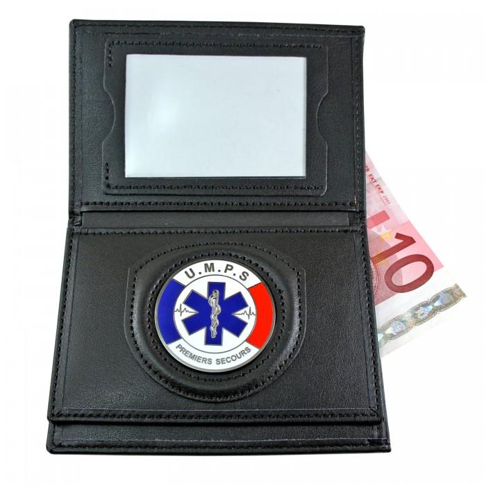 Porte carte 3 volets umps administratif fit police - Porte carte administration penitentiaire ...