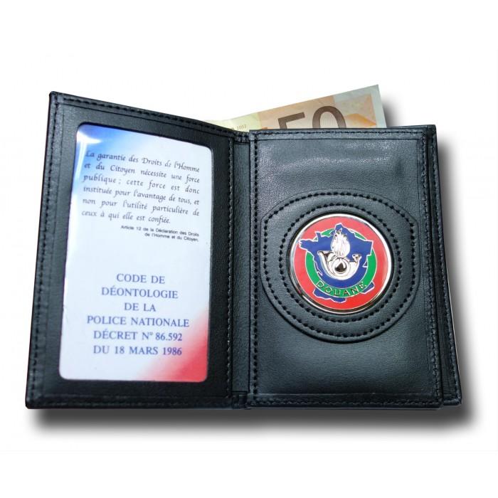 Porte commission d 39 emploi 3 volets douane administratif - Porte carte administration penitentiaire ...