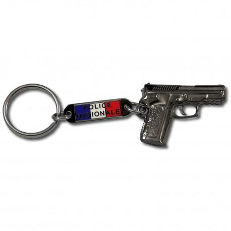 Porte clés pistolet Police