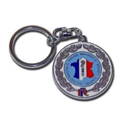 Porte clés police nationale DCSP Accueil PCLP03Accueil