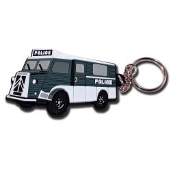 Porte clés police Tube Citroën Accueil PCLP11Accueil