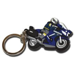 Porte clés Thermo-injecté Gendarmerie Moto