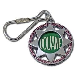 Porte clés Douanes Rond