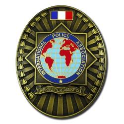 Plaque de Ceinture Standard IPA Accueil PCE007Accueil