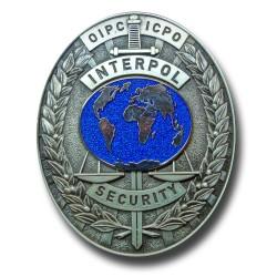 Plaque de Ceinture INTERPOL
