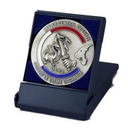 Médaille de Table DCPJ OCLCCO Accueil MED102Accueil