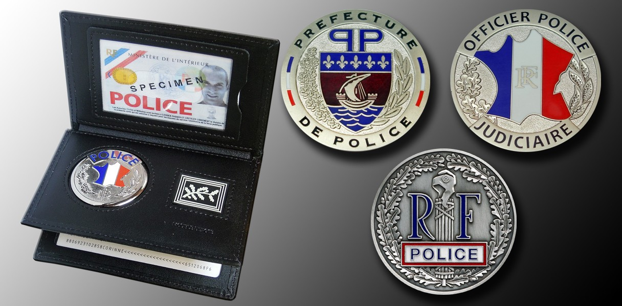 Carte Professionnelle Police Nationale.Fit Police Porte Carte Police Professionnels Fit Police