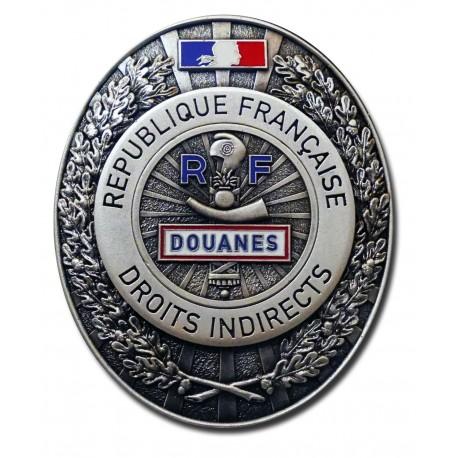Plaque de Ceinture Standard DOUANES Accueil PCE006Accueil