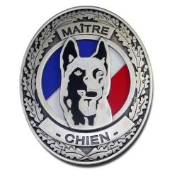 Plaque de Ceinture Standard Maitre Chien Accueil PCE009Accueil