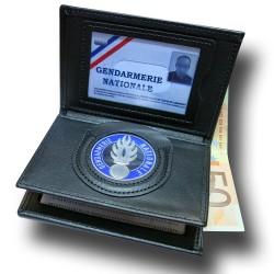 Porte Carte 3 volets Gendarmerie Administratif Accueil PCA005Accueil