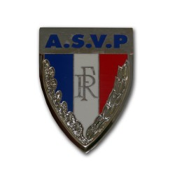 Insigne Police Municipale A.S.V.P 45mm Accueil IPM01Accueil