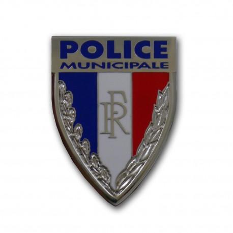 Insigne Police Municipale 45mm Accueil IPM02Accueil