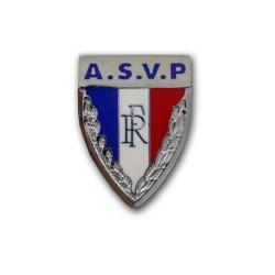 Insigne calot Police Municipale ASVP Accueil IPM03Accueil