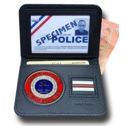 Porte Carte 2 volets Billet Penitentiaire + Grade Accueil PCA010Accueil