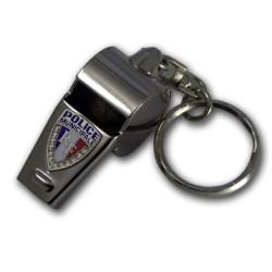 Porte clés sifflet Police municipale Accueil PCLPM04Accueil